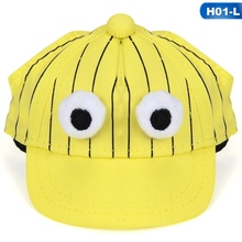 6d3ba09745f Summer Pet Dog Hats For Small Dogs Cartoon Chihuahua Pug Hat With Ear Holes  Puppy Dog