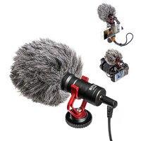 BOYA BY MM1 VideoMicro Compact On Camera Recording Microphone for Canon Nikon Sony DJI Osmo DSLR Smooth Q 4 Feiyu Gimbal VS RODE