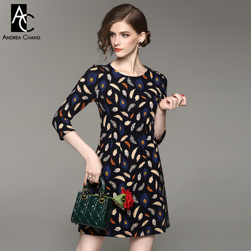 Платье желтое на осень