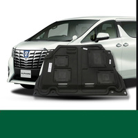 lsrtw2017 car styling car engine protection cover for toyota alphard Toyota Vellfire 2011 2014 2015 2016 2017 2018