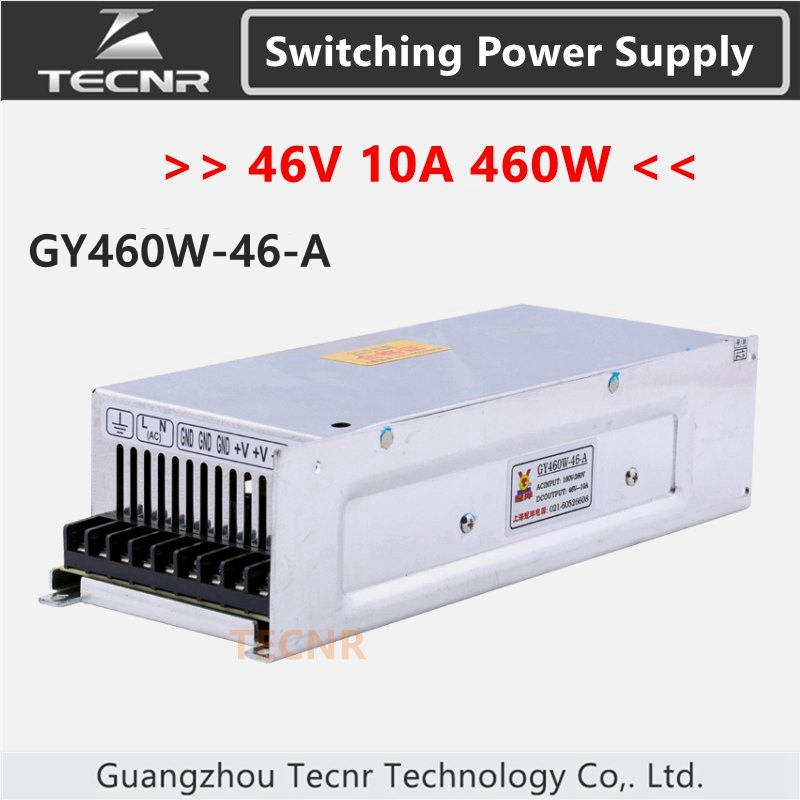 TECNR 46V 460W 10A switching power supply for cnc laser engraving machine GY460 46 A