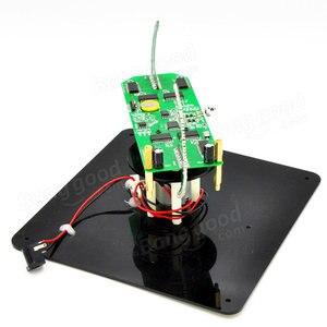 Image 4 - DIY dwuosiowy sferyczny obrotowy zestaw LED kreatywny POV lutowania zestaw treningowy