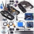 Беспроводной Wi-Fi Робот Автомобильный Комплект для Arduino, utility Vehicle Intelligent Robotics, Hd Камера Ds Робот Умный Набор Образовательных Материалов для Детей