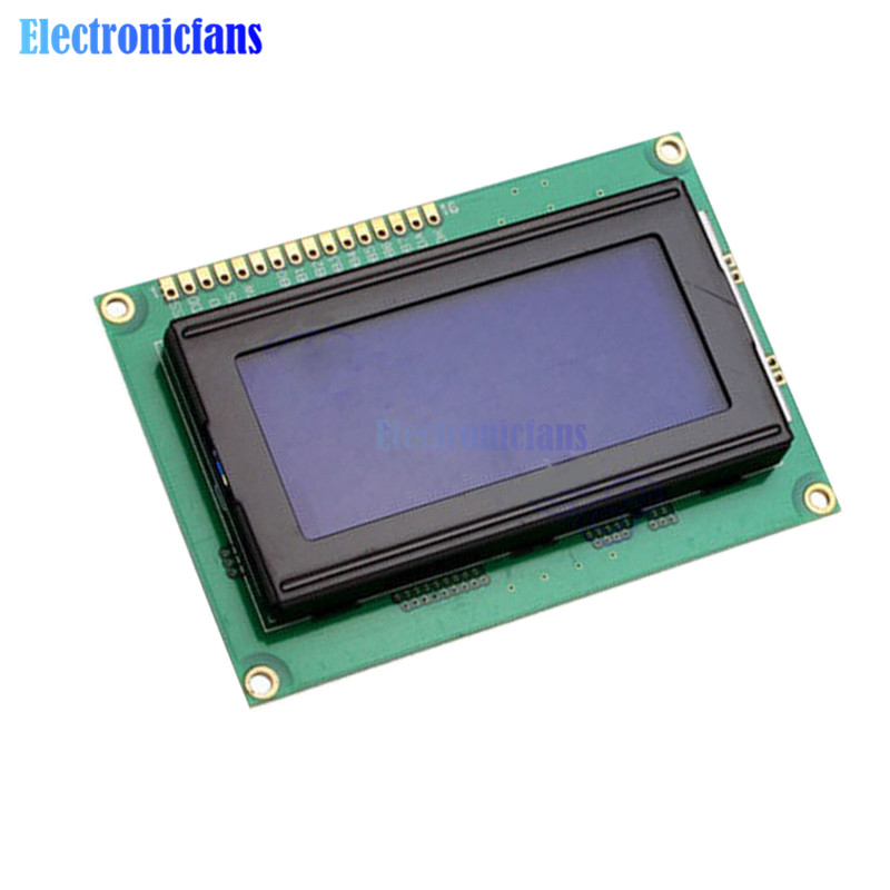 <font><b>1604</b></font> LCD 16*4 16x4 Character LCD1604 LCD Screen Blue Blacklight LCD Display Module 5V for Arduino image