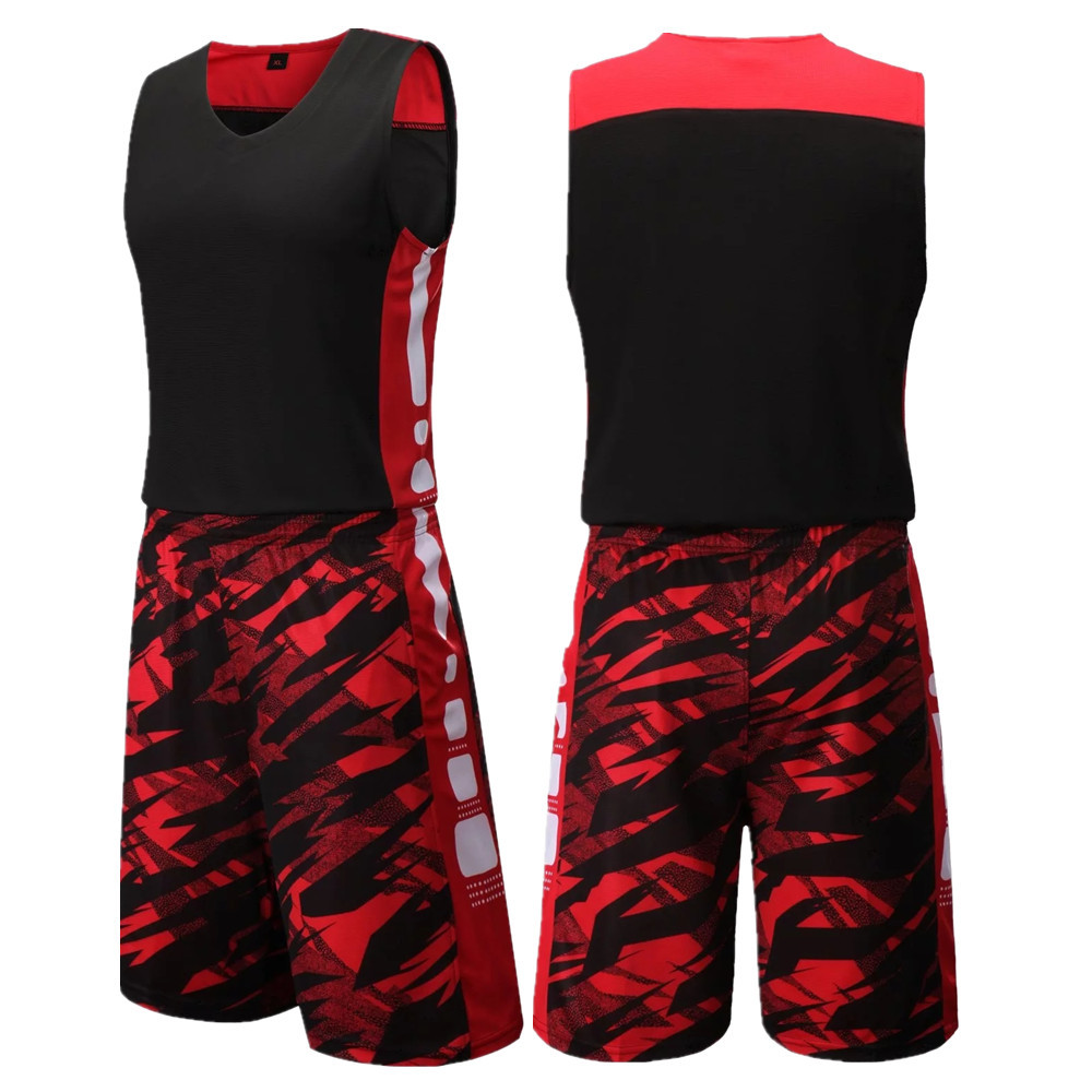 Men Basketball Jersey Sets Uniforms kits Adult Sports clothing Breathable  Quick Dry basketball jerseys shirts shorts DIY Custom ff54370b2