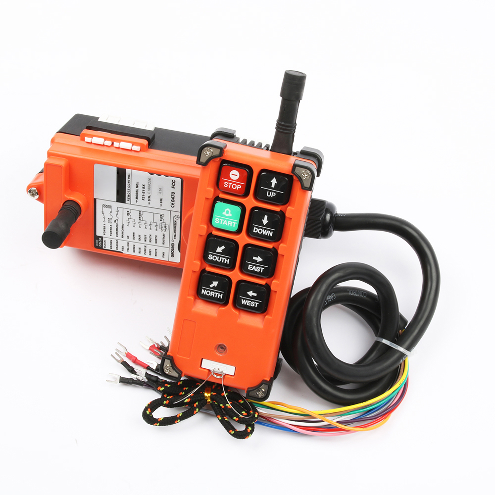 Image 3 - Industrial remote switches Hoist industrial Direction wireless Crane Radio Remote System switch 1receiver+ 1transmitter F21 E1B-in Switches from Lights & Lighting