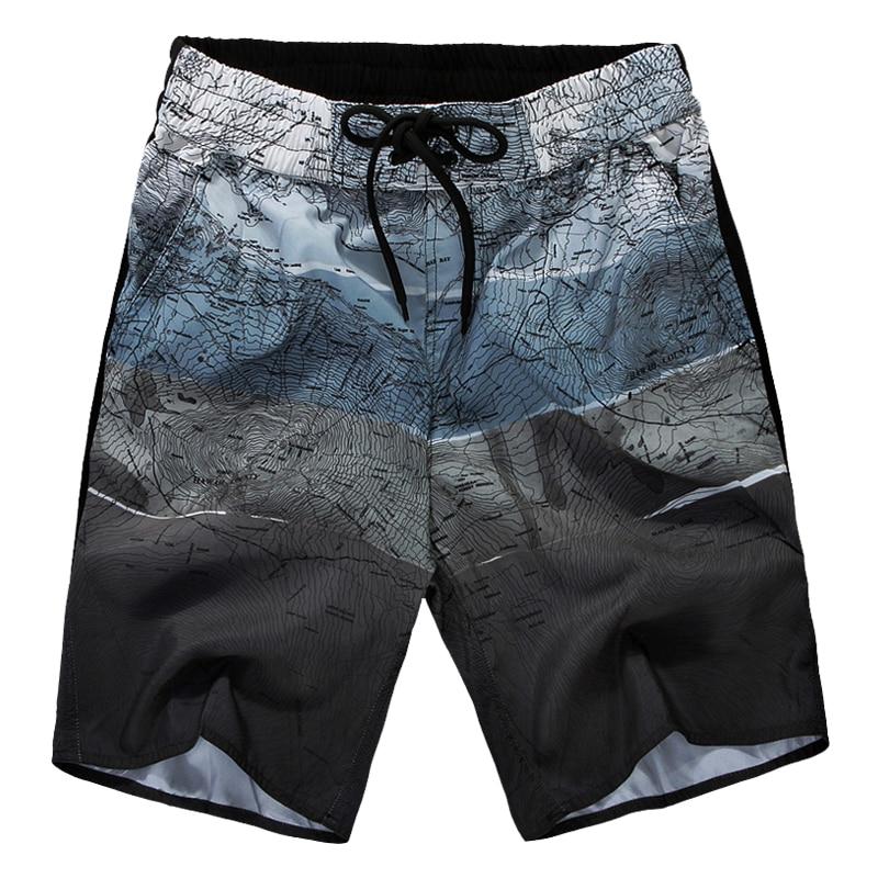 2019 Hot Sale Summer Men   Board     Shorts   Print   Short   Homme Breathable   Shorts   Men Boardshorts Mens Bathing   Shorts   5XL Swimshorts