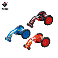 RC Mini Toys RC Car 2 4G 4wd Remote Control Cars 360 Degrees Flip Demonstration Flexible