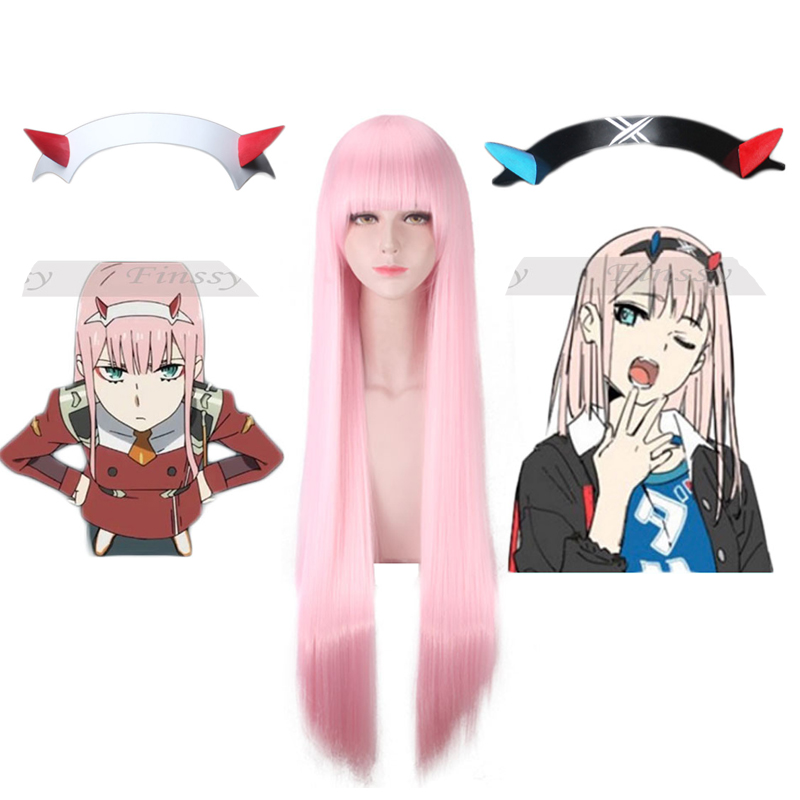 Popular Anime DARLING in the FRANXX Code 002  Red Devil Horn Headdress Deformation Hair clip Cosplay Decorative Props