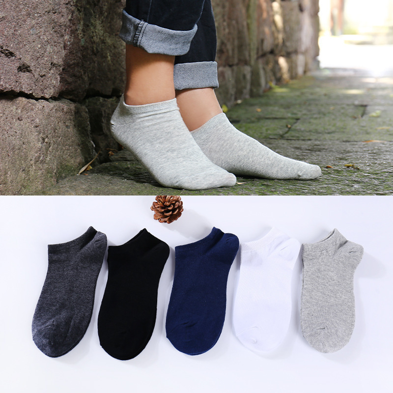 Cotton women low ankle boat socks invisible silicon gel slipper girl boy hosiery 1pair=2pcs ws147