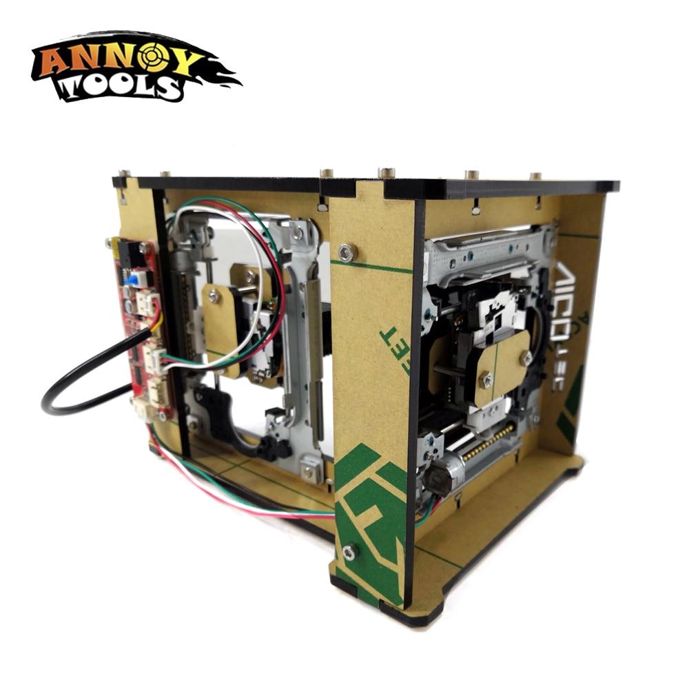DIY CNC maschine 1000mw laser gravur maschine laser router engraver cutter für kennzeichnung und schneiden