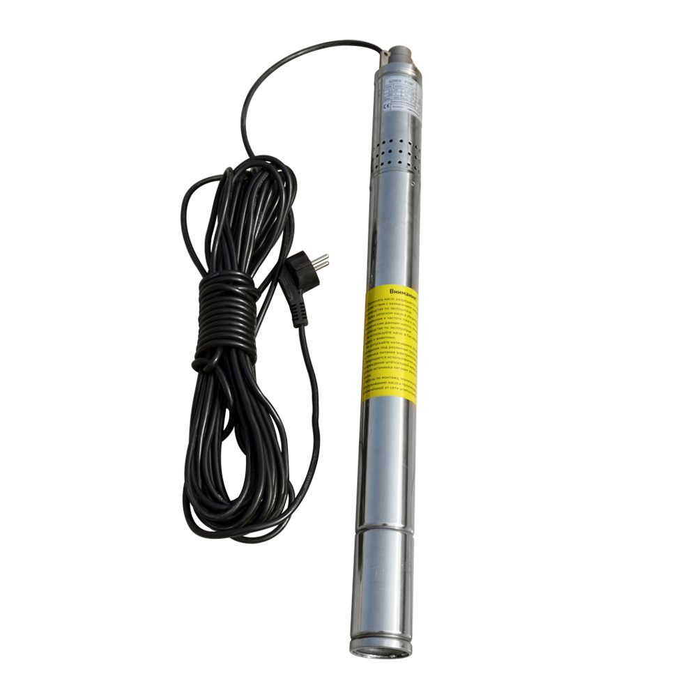 0.5HP Submersible Bore Water Pump Deep Well Irrigation Stainless Steel Electric qdx household 370w 1 agricultural irrigation submersible pump deep well water suction pump clean water pump