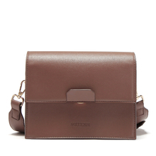Wide shoulder strap crossbody bags for women Quality PU leather casual bag designer HSC106