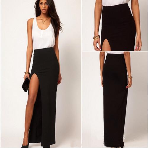 Long Black Pencil Skirt Sale - Dress Ala