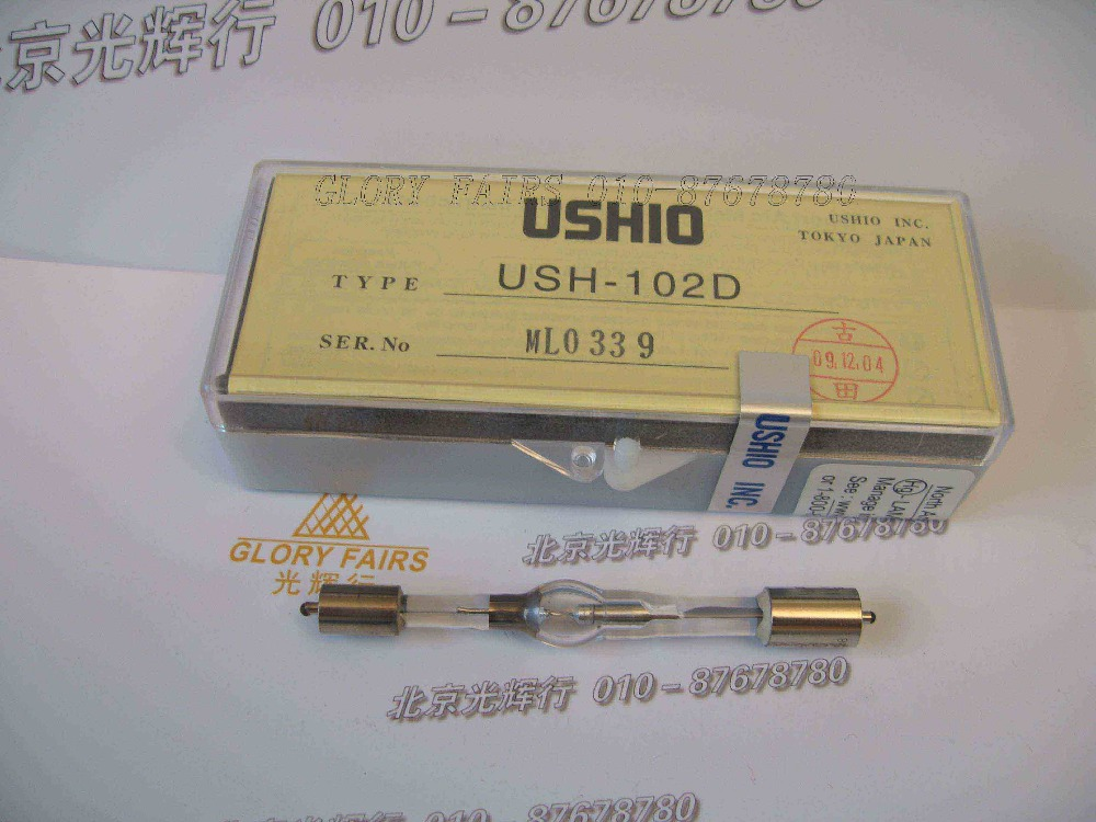 UnermüDlich Ushio Ush-102d Mercury Kurze Arc 100 W Lampe, Fluoreszenz Mikroskop, Olympus 8-b192 Illuminator Beleuchtung, Ush102d Birne Modische Und Attraktive Pakete
