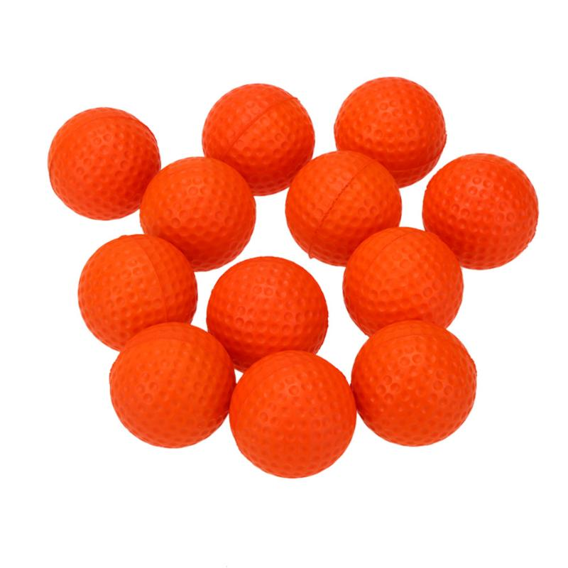 24pcs/Lot Golf Practice Balls Soft Elastic PU Foam Sponge Golf Balls for Indoor Outdoor Golf Training Ball Gift for Kids Friends