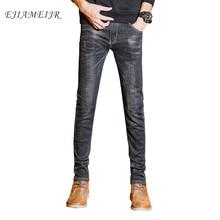 0d4130e1 EJIAMEIJR High Stretch Black Denim Men Slim Fit Size 27 28 29 30 31 32 33  34 36 Pants