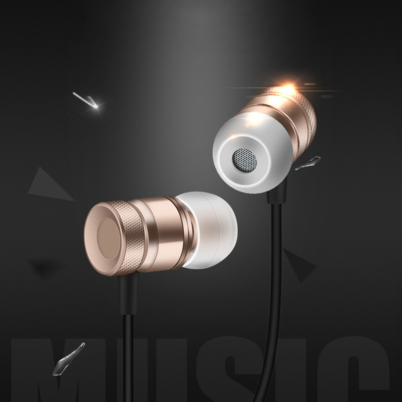Type-C Earphones for Letv LeEco Le 2 Pro Max 2 USB Type-C In Ear Earphone with Microphone Metal Wired Earphones 4 Colors(China)