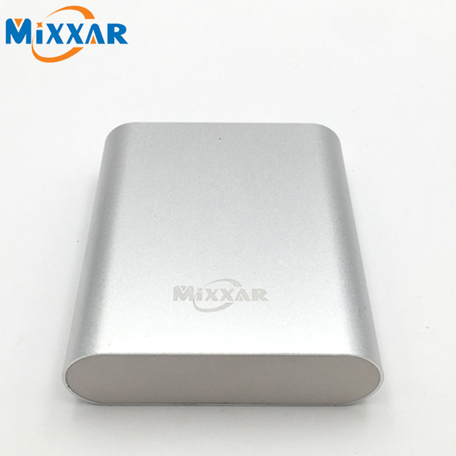 Zk50 mixxar 10000 mah banco de alimentación externa bateria cargador portátil powerbank para iphone 4s 5s s5 6 6 plus htc ipad