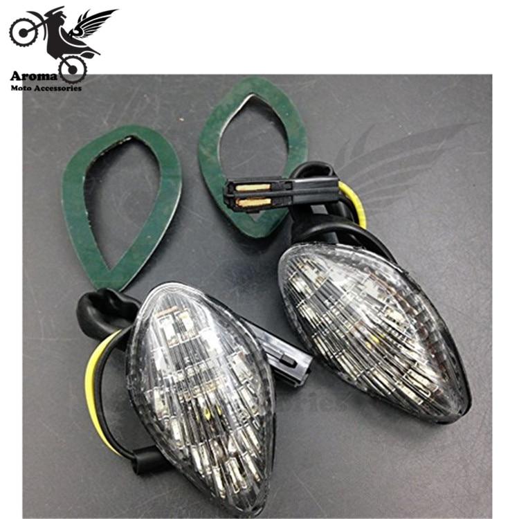 high quality dirt pit bike parts motocross indicator scooter flashers moto blinker motorcycle <font><b>LED</b></font> motorbike turn signal light