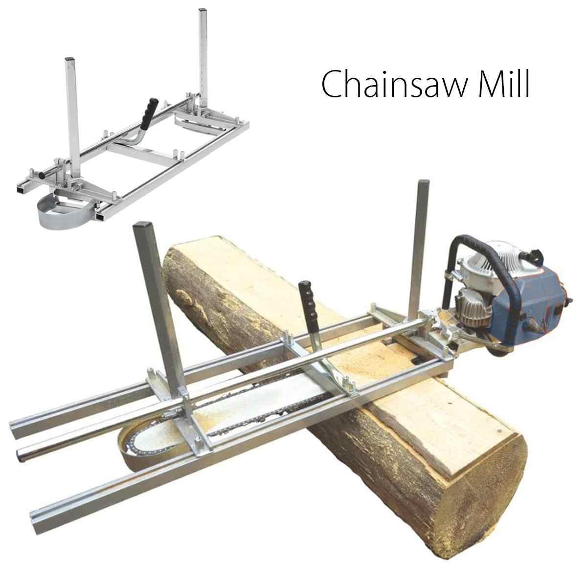 Przenośna piła młyn deski frezowanie piła łańcuchowa młyn deski drewna frezowanie Bar rozmiar 14 ''do 36'' narzędzie do cięcia