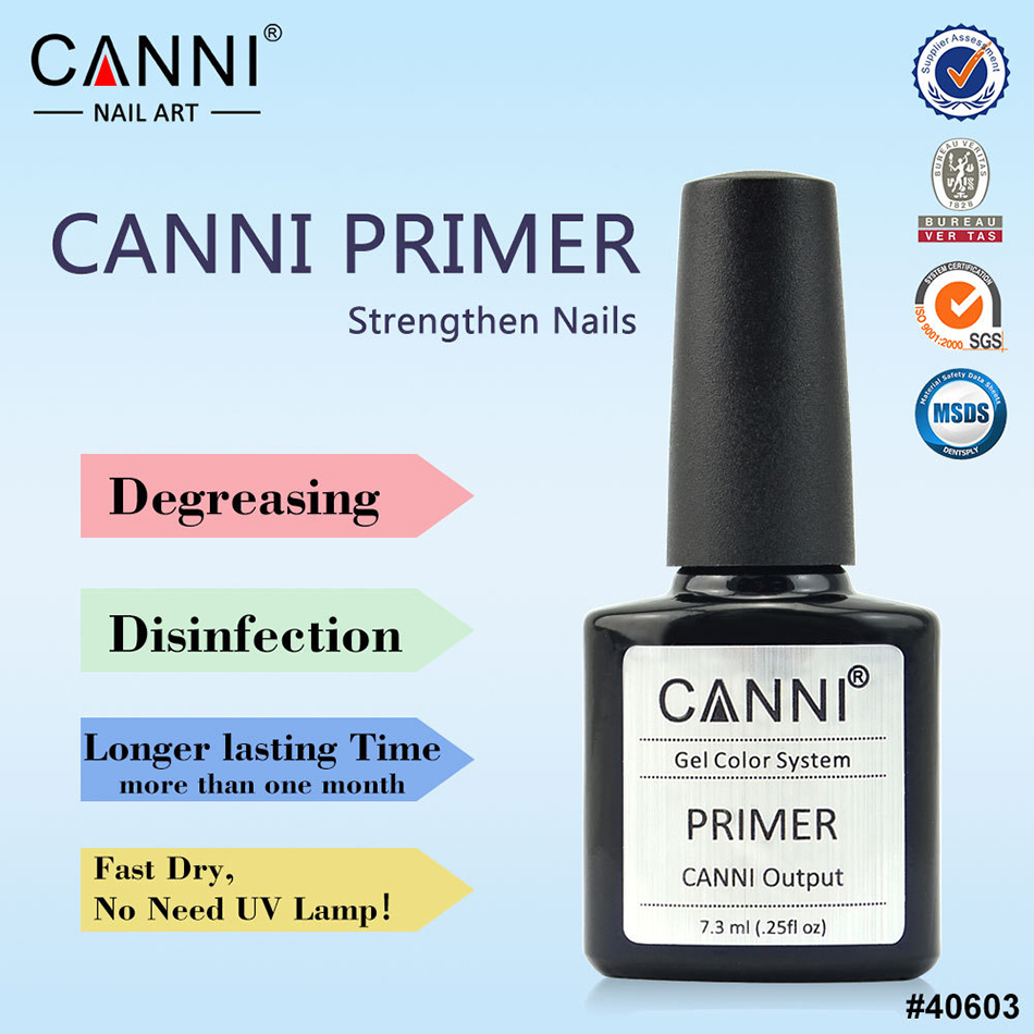 CANNI UV LED Gel Base Primer Coat Professional Vernis Soak Off Gel Nail Polish Gel Primer Gelpolish CN02