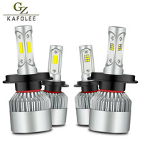 Gzkafolee Car Headlight H7 H4 LED H8 H9 H11 H1 H3 H13 HB3 HB4 9005 9006