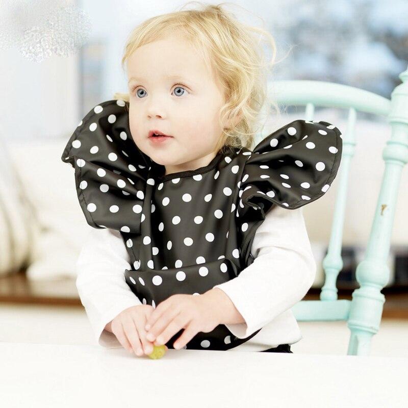 Baby bib Rice pocket with waterproof fabric fashion bib for baby Waterproof Lunch Bibs YYT156-YYT158