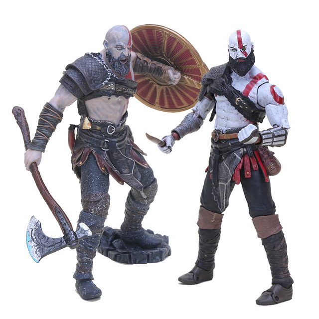 Jogo NECA God of War Kratos 4 18-20 cm PVC Action Figure Collectible Modelo Brinquedos para Presente