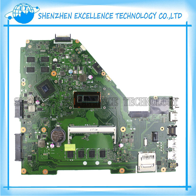 X550LC Laptop Motherboard For ASUS  X550LC I5-4200CPU Non-integrated REV2.0 Mainboard full tested OK кабель удлинительный 1 5м gembird 3 5 jack m 3 5 jack f cca 423
