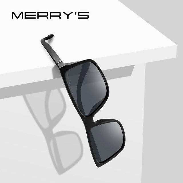 8f63af930f MERRYS DESIGN hommes lunettes de soleil polarisées mode lunettes pour homme  100% Protection UV S8225