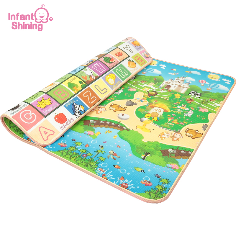 Infant Shining New Tapete Infantil 3cm Thickness Baby Carpet Play Mat Foam Puzzle Mats Crawl Playmat