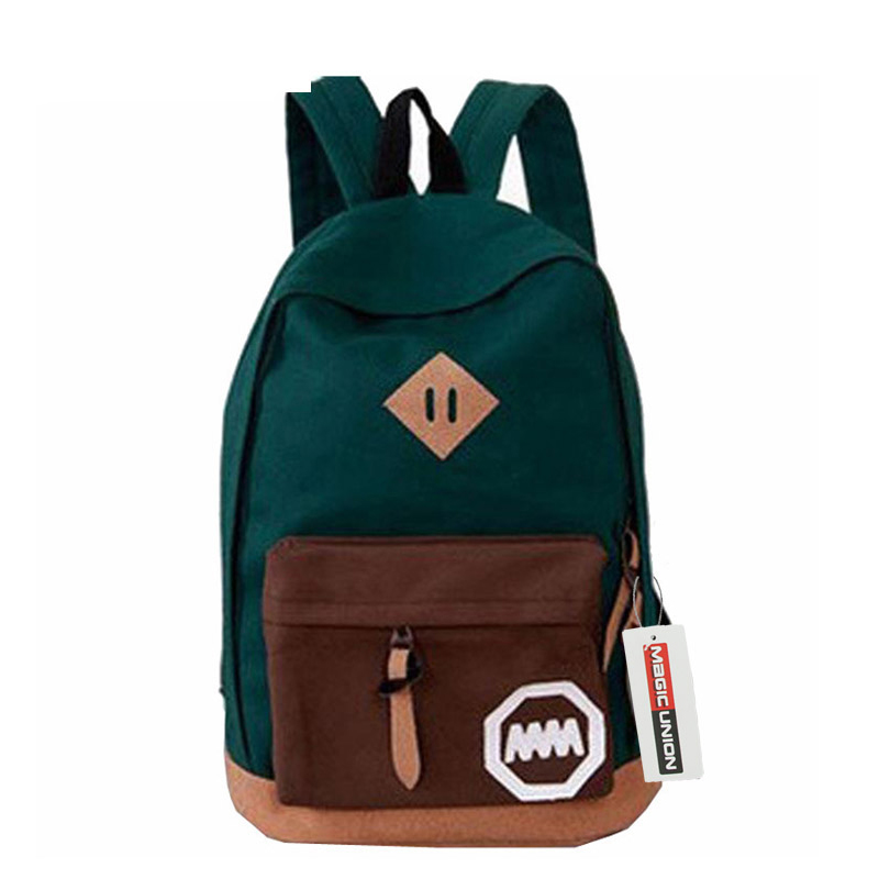 2016 New Woman Backpack Women School Bag Printing Backpacks Fashion Canvas Women's Bags