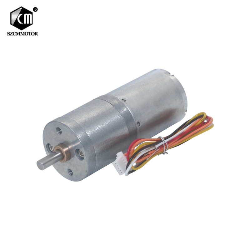 25mm Diameter Gearbox Geared Motors Silent High Torque Mini Gear Motor Brushless High Torque DC Reduction Motor Speed Control 1pcs underwater thruster brushless motor dc24v high torque waterproof motor 350kv 4023 micro motors for rc airplane parts