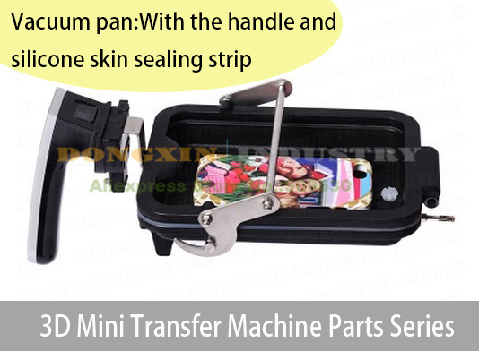 ФОТО vacuum dish for mini sublimation machine pan 3d heat transfer sublimation parts accessories for phone case cover DIY ST-1520