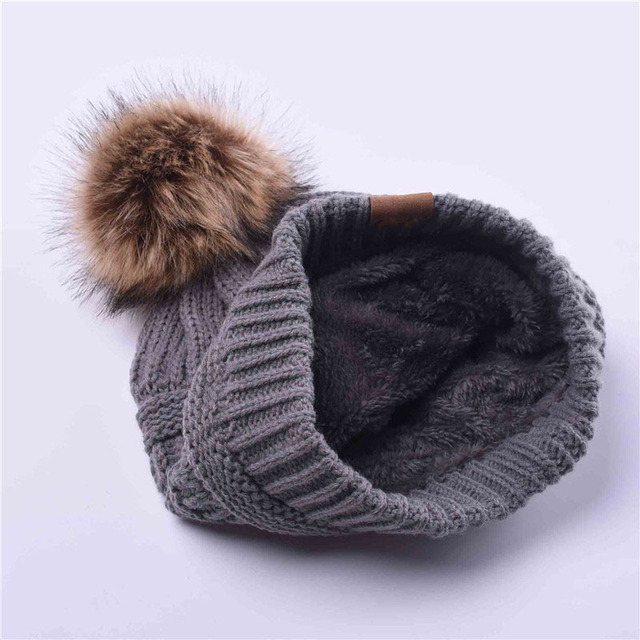 FURGAZI Cool Cap Faux Fur Beanie