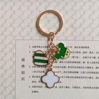 Heart Design KeyChain Zinc Alloy Not Fade Flash Bright Metal Keychain Bag Keyring Family Llavero Dad