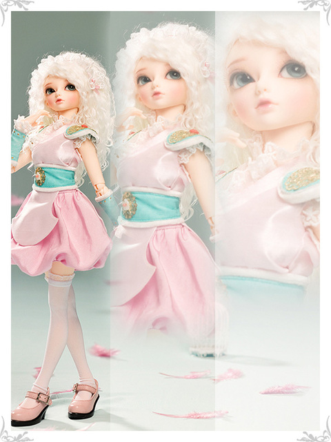OUENEIFS Ryeon Minifee Fairyland bjd 1/4 body model  baby girls boys dolls eyes High Quality toys shop  resin anime