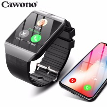 Bluetooth Smart Uhr Smartwatch DZ09 Android Anruf Relogio 2g GSM SIM TF Karte Kamera für iPhone Samsung HUAWEI PK GT08 A1(China)
