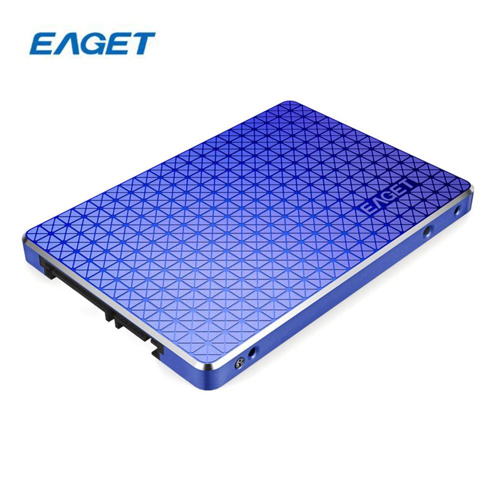 EAGET S500 SATA3 SSD 120G 2.5 Inch Solid State Drive Hard Disk TLC flash memory For Desktop Laptop PC 120GB/256GB/512GB kingston digital hyperx savage sata solid state drive 2 5 inch shss37a 120g