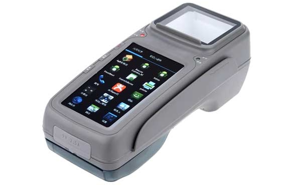 Barcode Scanner Wireless Financial Handheld POS Terminal Parking Ticket Machine