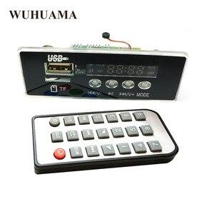 Image 1 - 5 V/12 V APP Kontrolü Bluetooth 4.2 MP3 Çözme devre kartı modülü TF Kart USB FM APE FLAC Dekoder Kartı dijital Eller Serbest