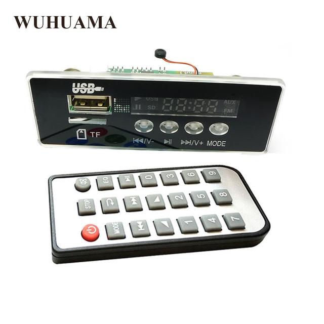 5 V/12 V APP Kontrolü Bluetooth 4.2 MP3 Çözme devre kartı modülü TF Kart USB FM APE FLAC Dekoder Kartı dijital Eller Serbest