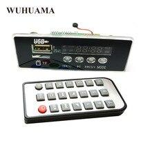 5V/ 12V APP Control Bluetooth 4.2 MP3 Decoding Board Module TF Card USB FM APE FLAC Decoder Board Digital Hands Free