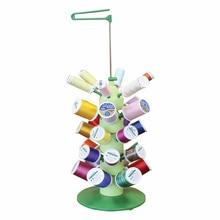 Sewtech 30 spoel draadstatief 5 lagen universele steek naaigaren houder organizer voor naaimachine draad toren ST-A15