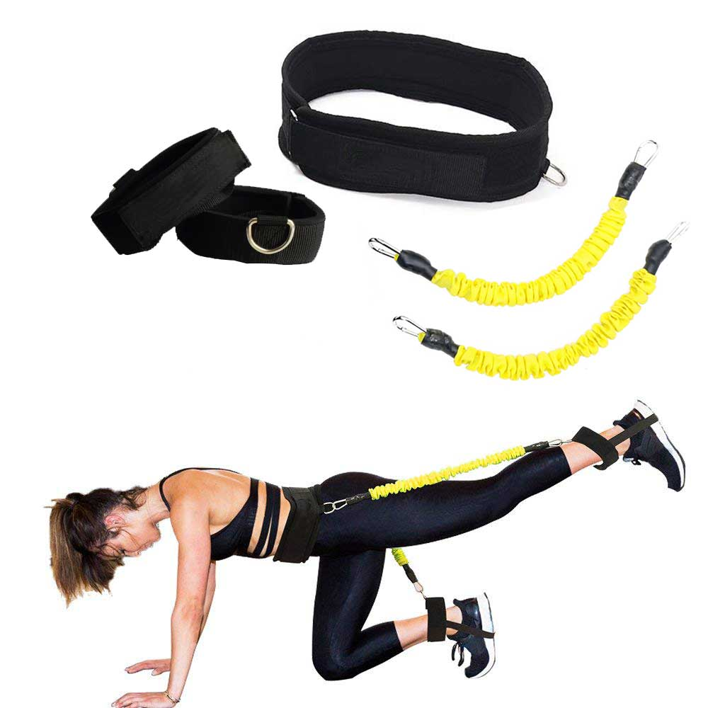 Booty Bands Set Resistance Bands For A Bikini Butt Glutes Muscle Waist Belt Adjustable Hip Workout Leg trainer booty bands set resistance bands for a bikini butt glutes muscle waist belt adjustable workout with carry bag and a full guide