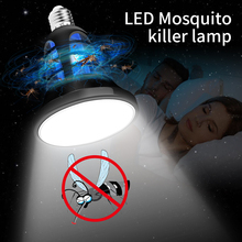 2 in 1 8W LED Bulb E27 Mosquito Killer Lamp 110V 220V Electric Trap 5V USB Repellent Fly Bug Zapper Insect Light