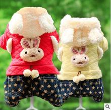 Dog Pet Winter Clothes Dog Coat Hoodie Thicken Winter Down Jackets For Puppy Fashion Design