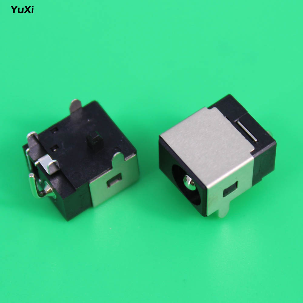 YuXi new 2.5mm Laptop dc power jack dc jack sockets for Asus N53JF N53JQ N53S N53SN N53SV N53 N53J cpu cooling fan for asus n53 n53j n53jf n53jn n53s n53sv n53sm n73j n73jn ksb06105hb ab20 am14 laptop fan cooler