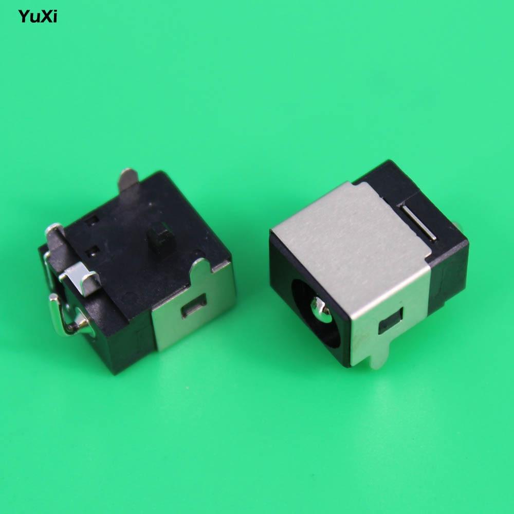 цена YuXi new 2.5mm Laptop dc power jack dc jack sockets for Asus N53JF N53JQ N53S N53SN N53SV N53 N53J